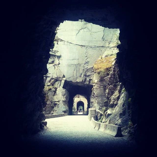 Othello tunnels, last stop on our way home
