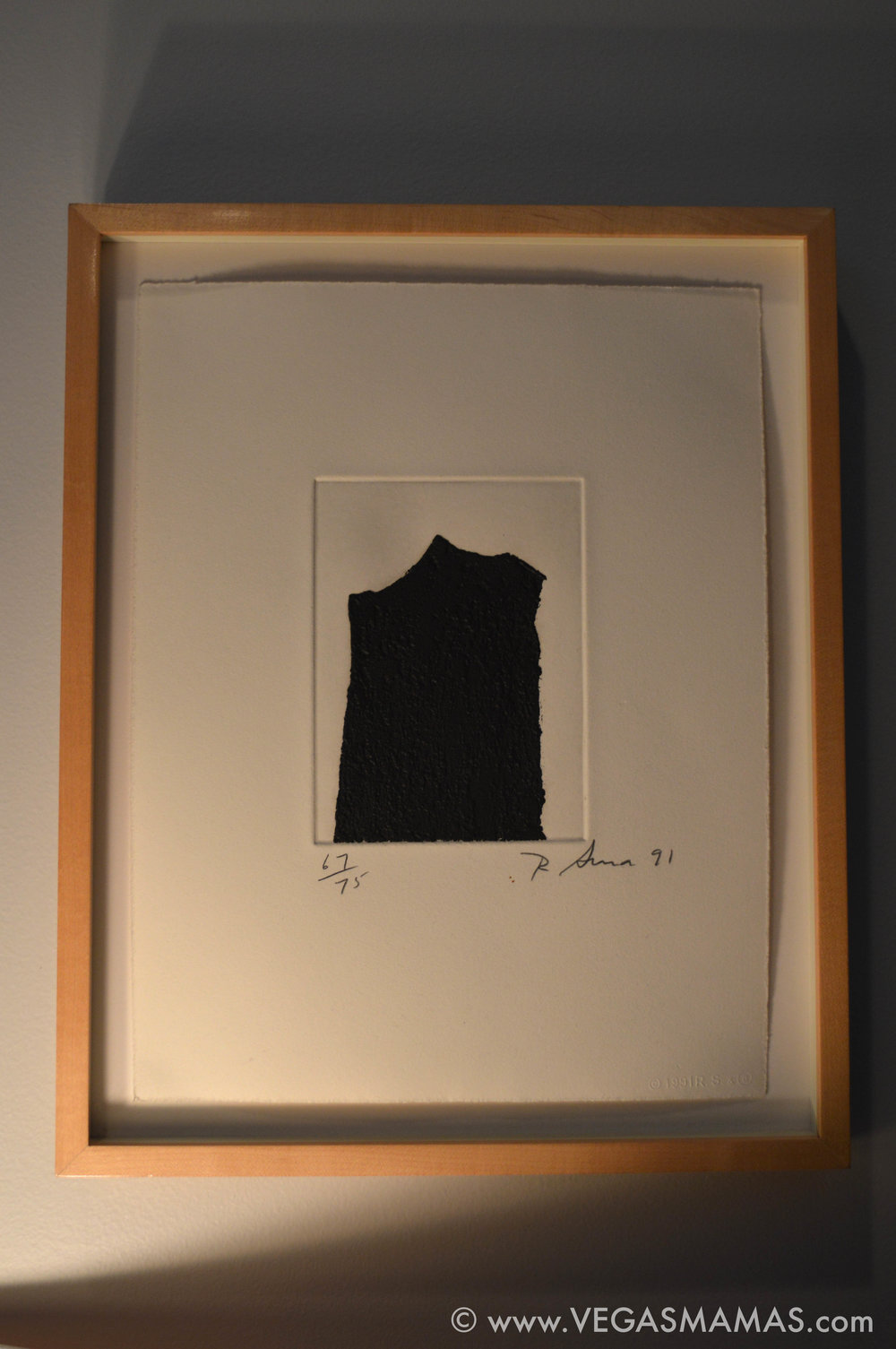 Richard Serra, Michele's first fine art acquisition