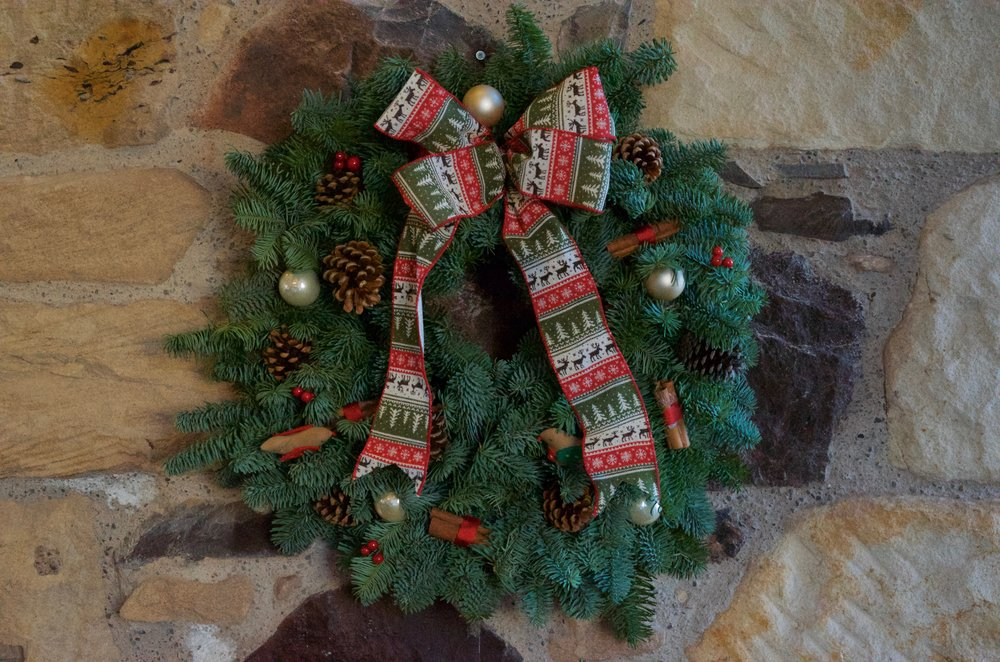 Luxury Door Wreath 12""