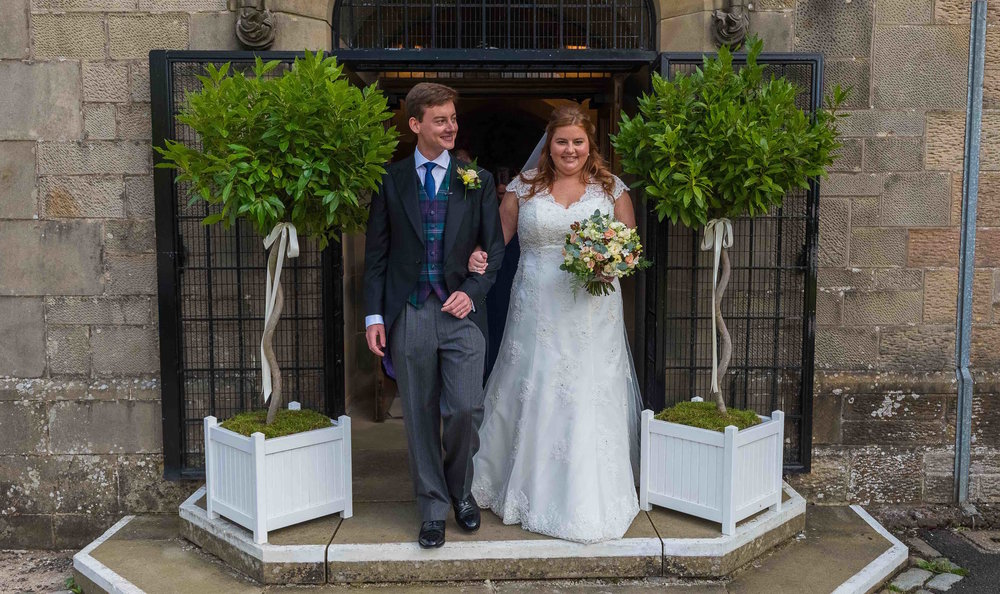 Kirsty & Tim - Marr Hall
