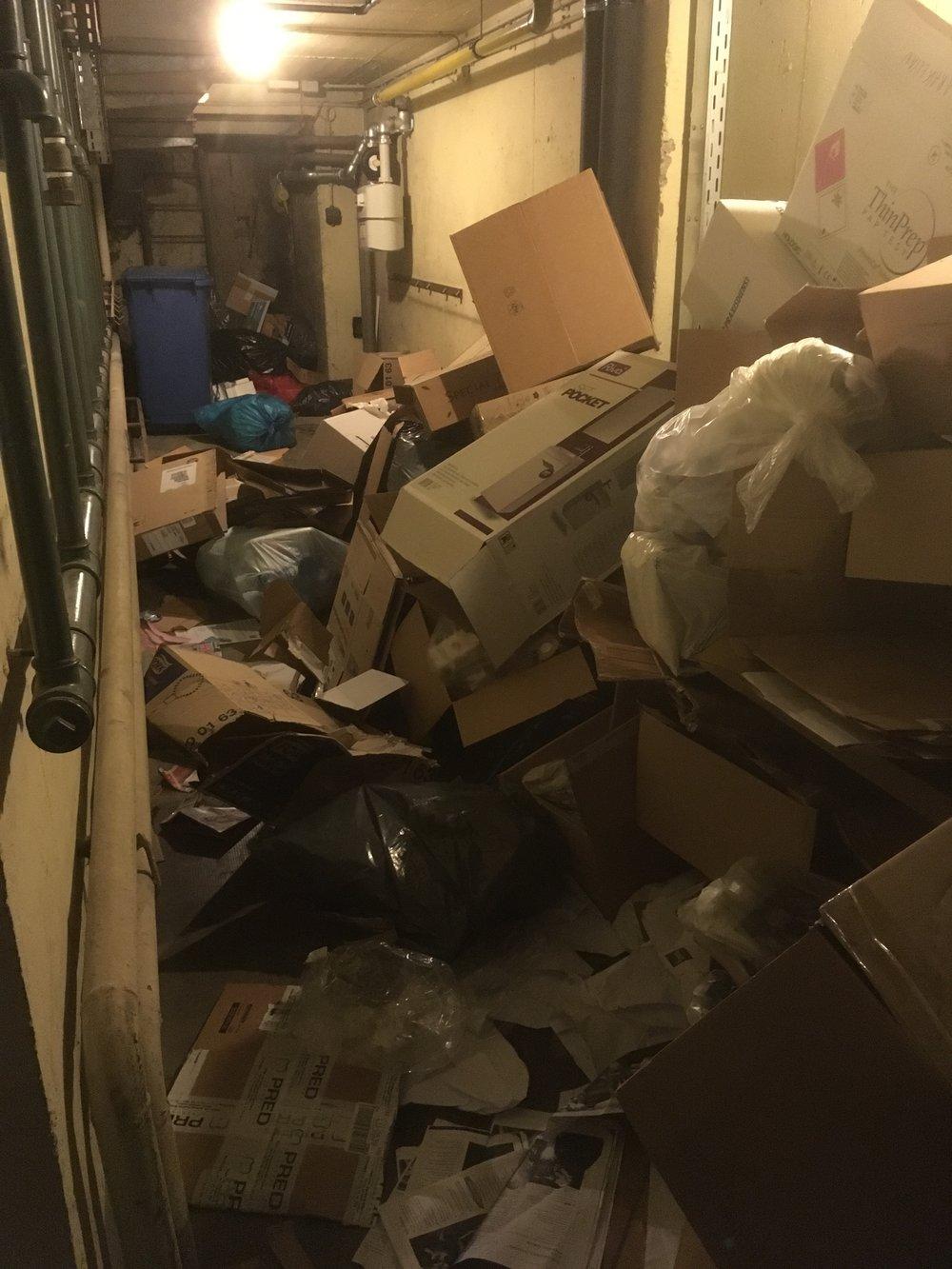 décembrement poubelle conteneur déchets ménagers