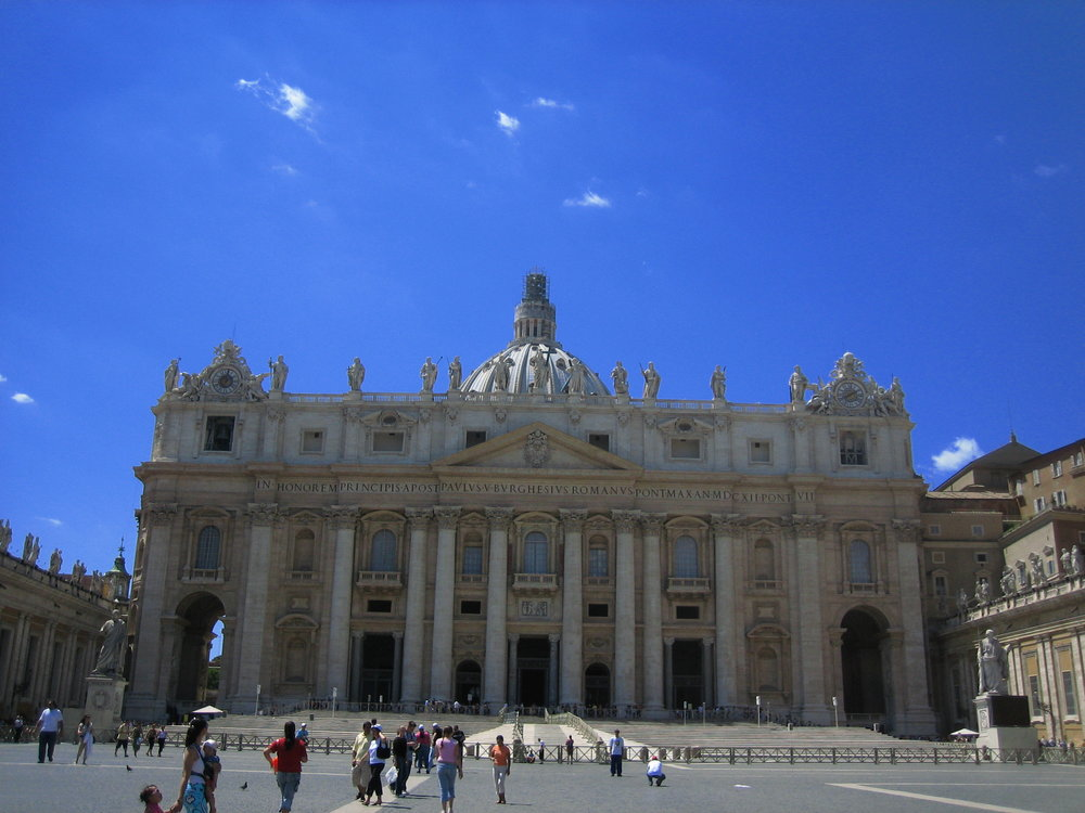 Piazza San Pietro, Vatican City.