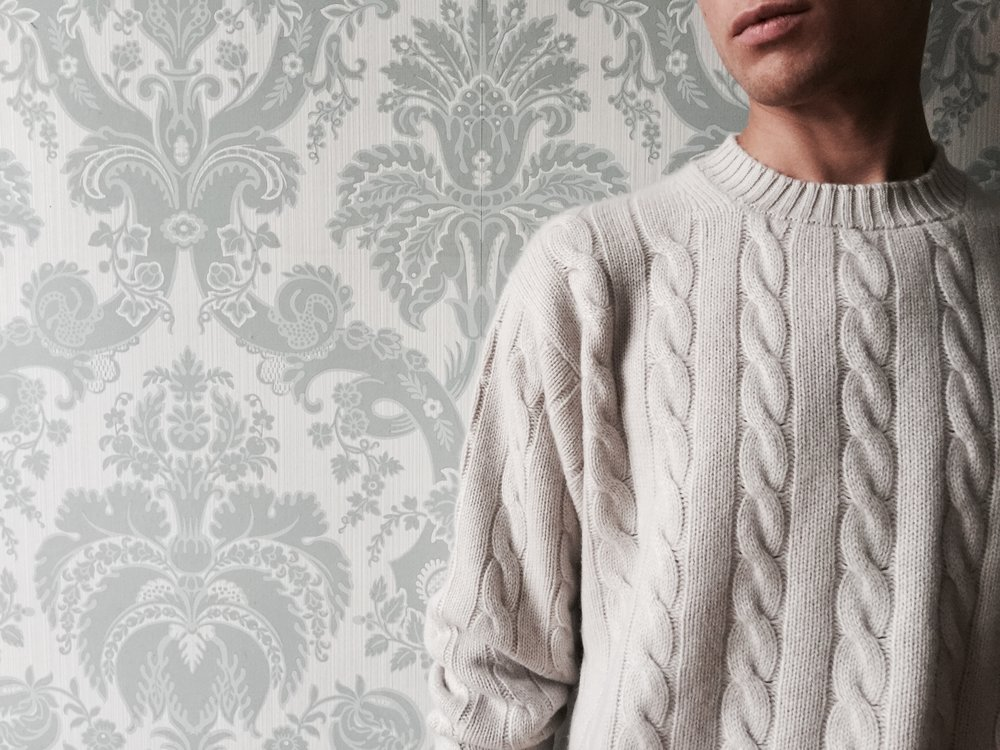 The cable knit in haze