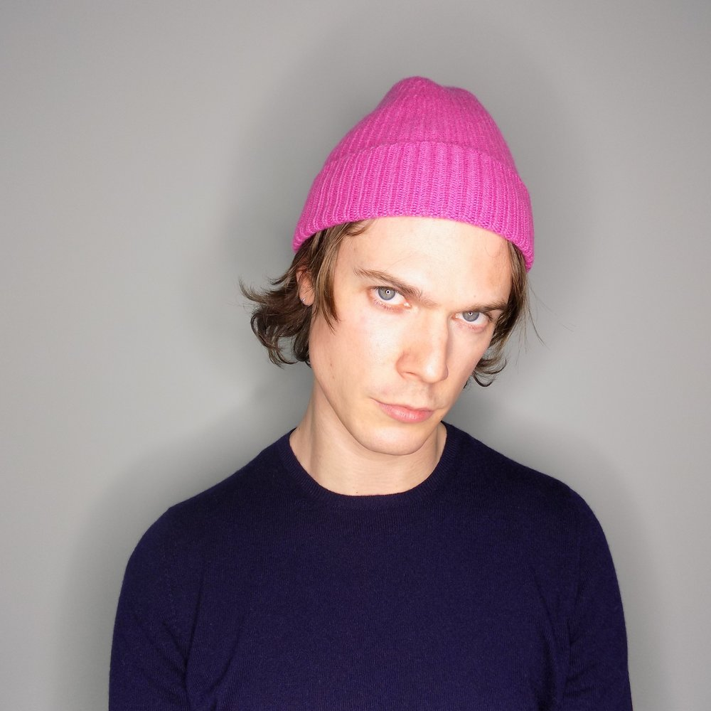 cross-cashmere-beanie-cashmere-t-shirt-pink-made-in-scotland-stephen-sheriff.jpg