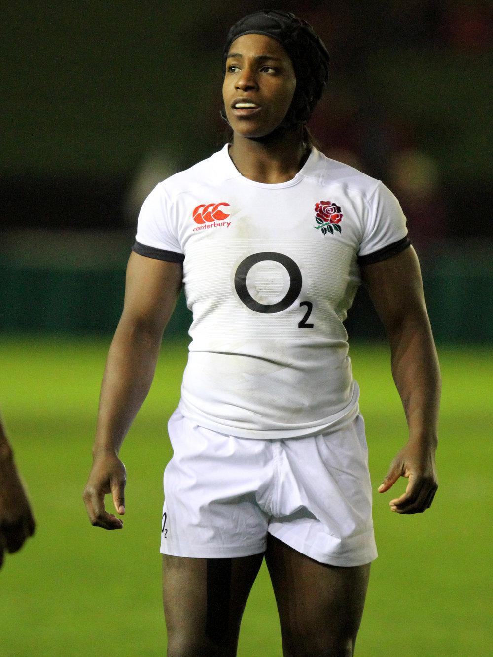 Margaret Alphonsi MBE - England Rugby World Cup Winner