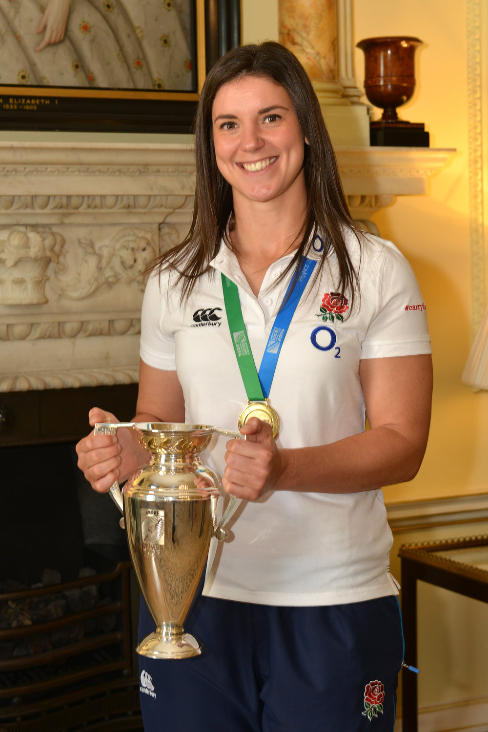 Sarah Hunter - England Rugby Captain, Rugby World Cup winner & MBE