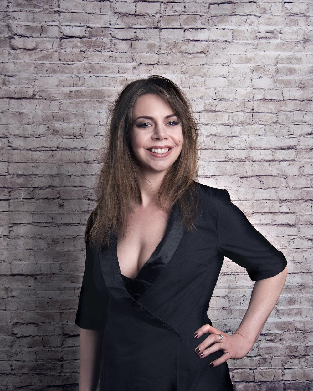 Georgie Morrell - Comedian, writer, presenter and actress