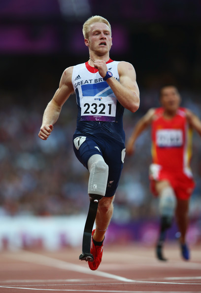 Jonnie Peacock MBE - 2012 & 2016 Paralympic T44 100m Champion