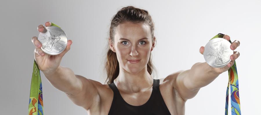 Jazz Carlin - Swimmer - Double Olympic Medal Winner