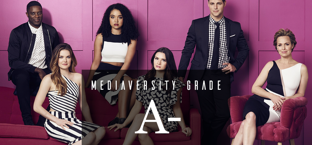 A Review Of  The Bold Type  Based on Quality, Race, Gender, and LGBTQ Topics.