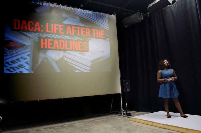 DACA: LIFE AFTE THE HEADLINES, is a short documentary which i was scouted and honed for PITCH IT TO PRODUCE IT. THE PROJECT WAS LATER PRESENTED AT THE JJ WHALEN SYMPOSIUM.