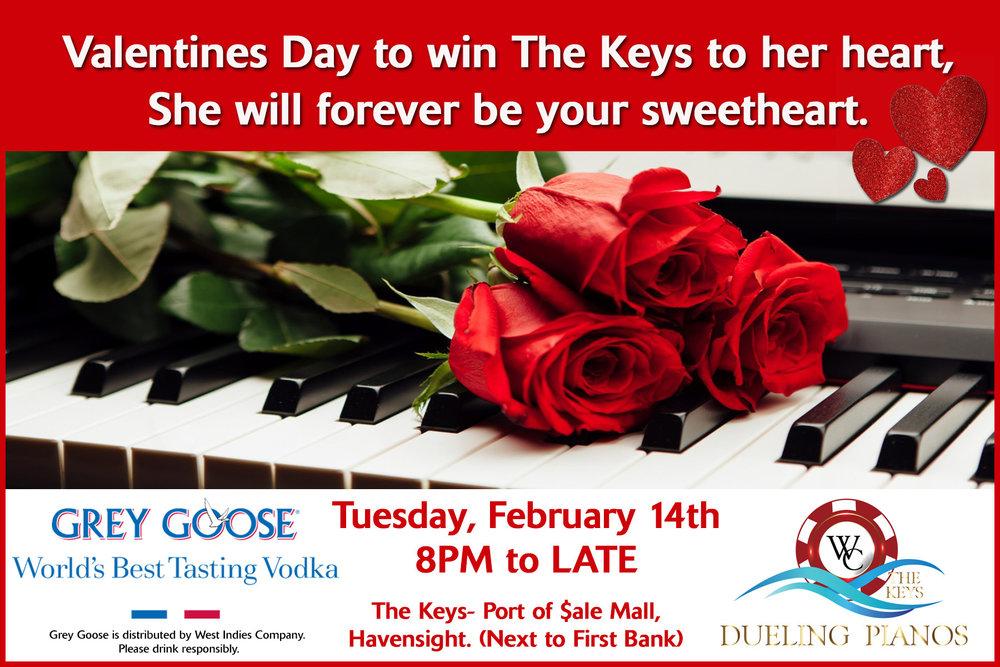 The Keys- Valentines