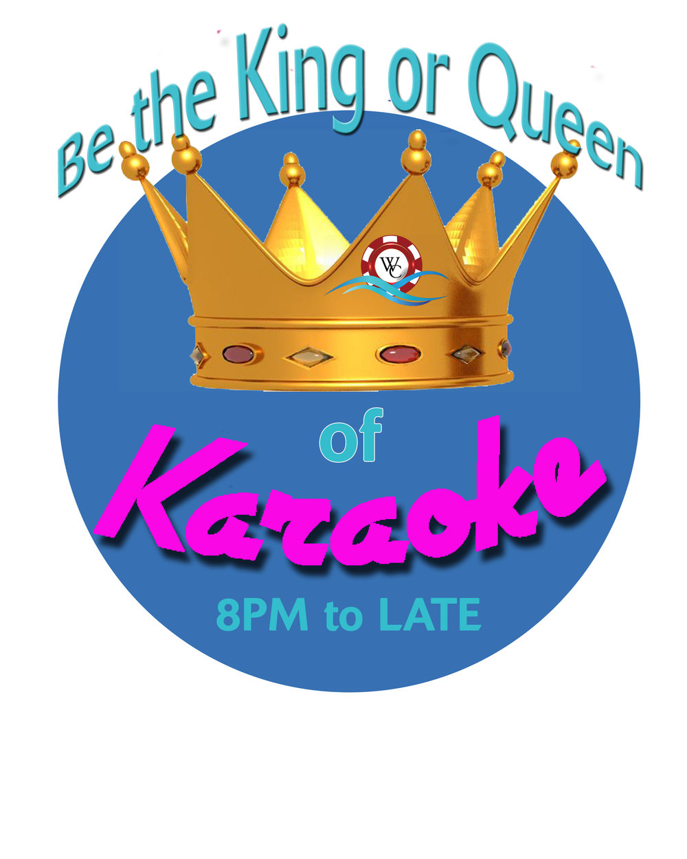Be the King or Queen of Karaoke! Every Wednesday at The Keys- Port of $ale Mall.  8PM to LATE. NO COVER CHARGE.