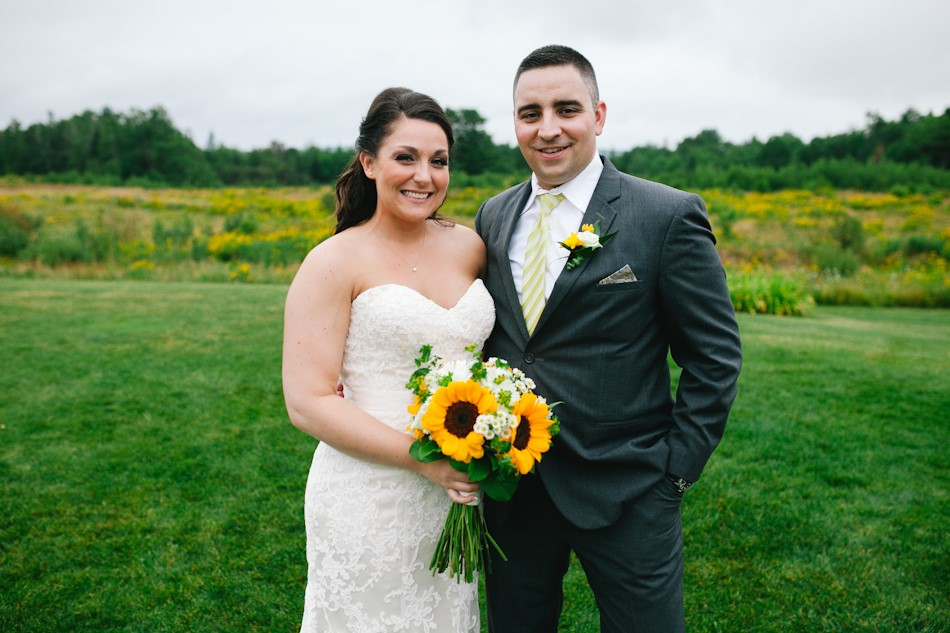 Meet Maria and Jon. The beautiful bride and the handsome groom.