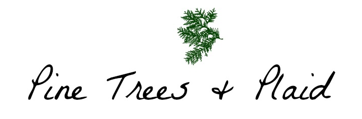 Pine Trees and Plaid Blog Logo