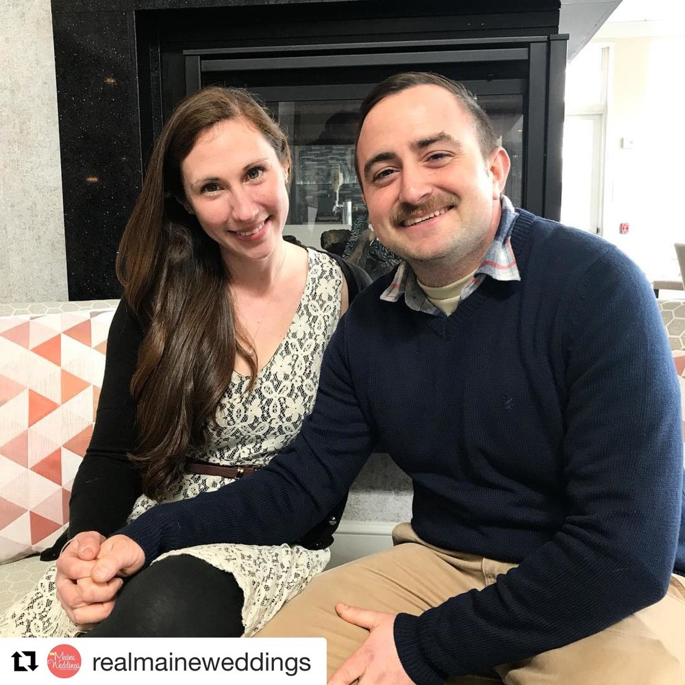 Meet Jackie & Phil. Winners of Real Maine Weddings Magazine $100,000 dream wedding of the year 2018!