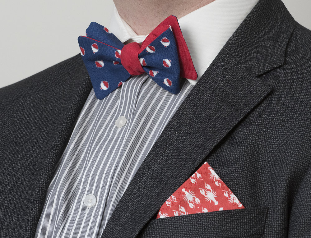 Shop Bowties - Take a peek at our carefully handcrafted bowties that capture the essence of preppy New England style.