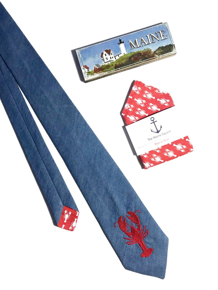 Shop Traditional Neck Ties - Browse our handsome custom made traditional neckties that capture the simplicity of Maine life.