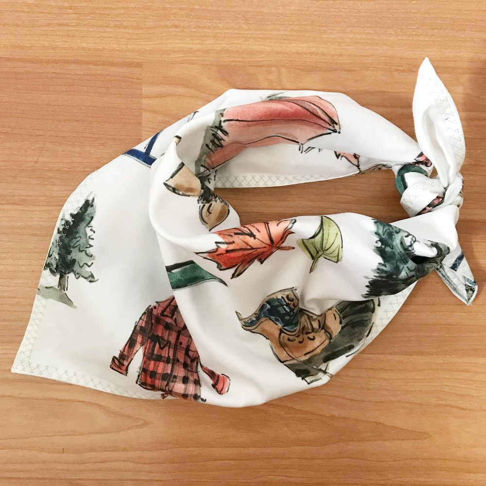 Shop Bandanas - Shop Beautiful custom handmade Bandanas made with New England Flair.
