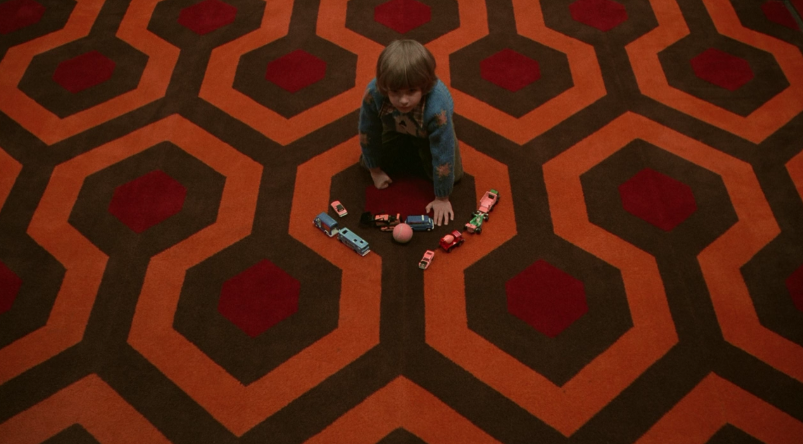 the shining carpet danny