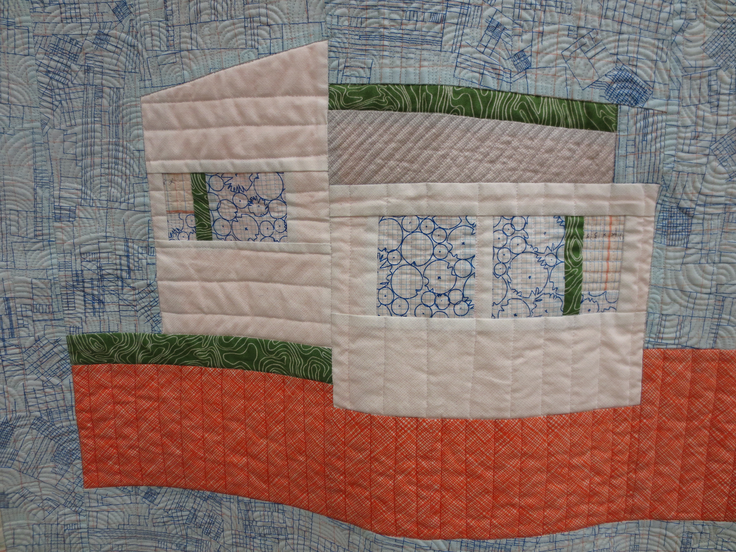Splitlevel Carolyn Friedlander The Local quilt