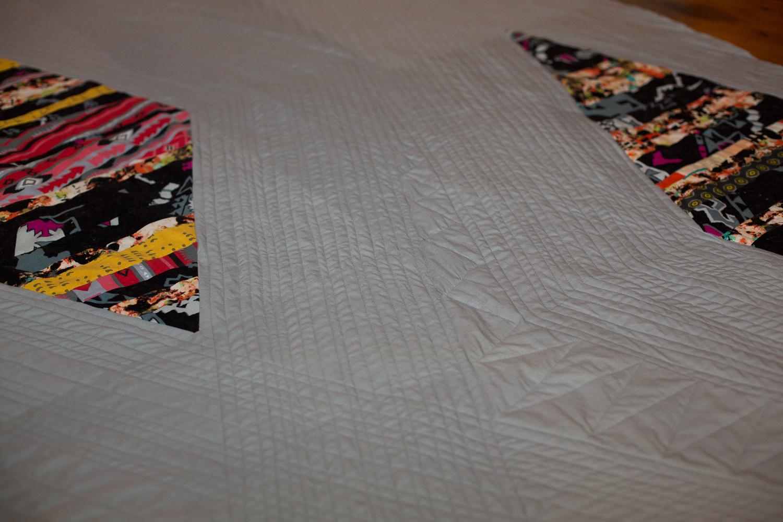 modern diamond quilt 4
