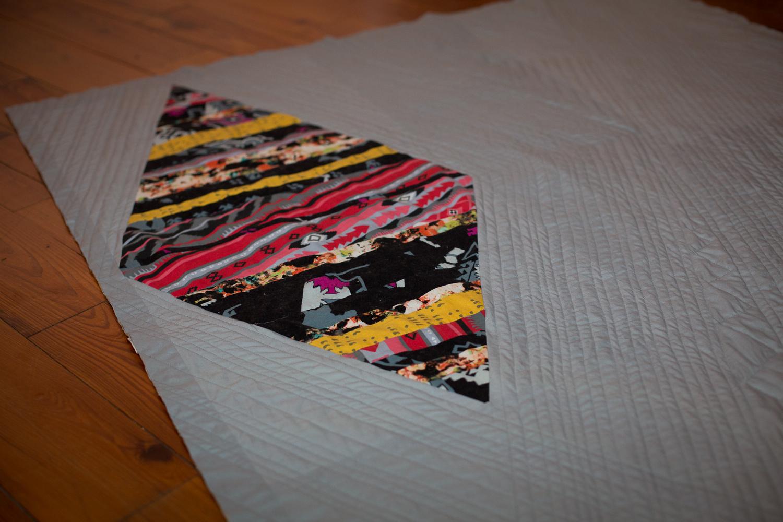 Modern Diamond Quilt 3