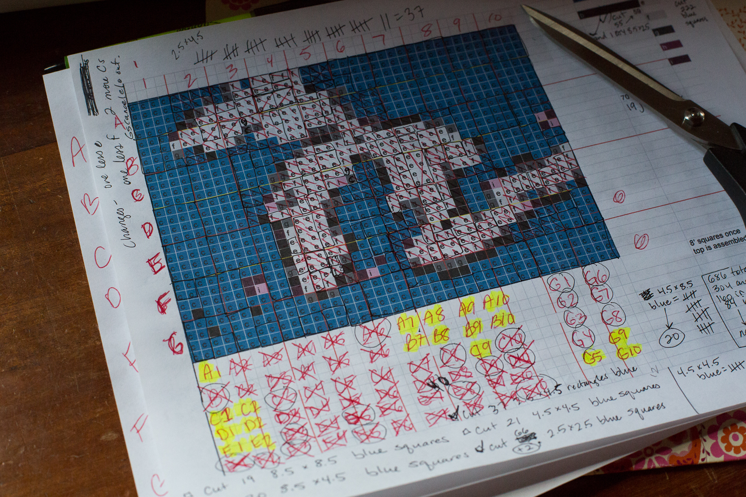 Michigan pixel quilt 1