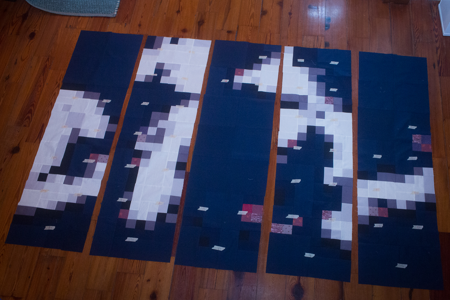 michigan pixel quilt 4
