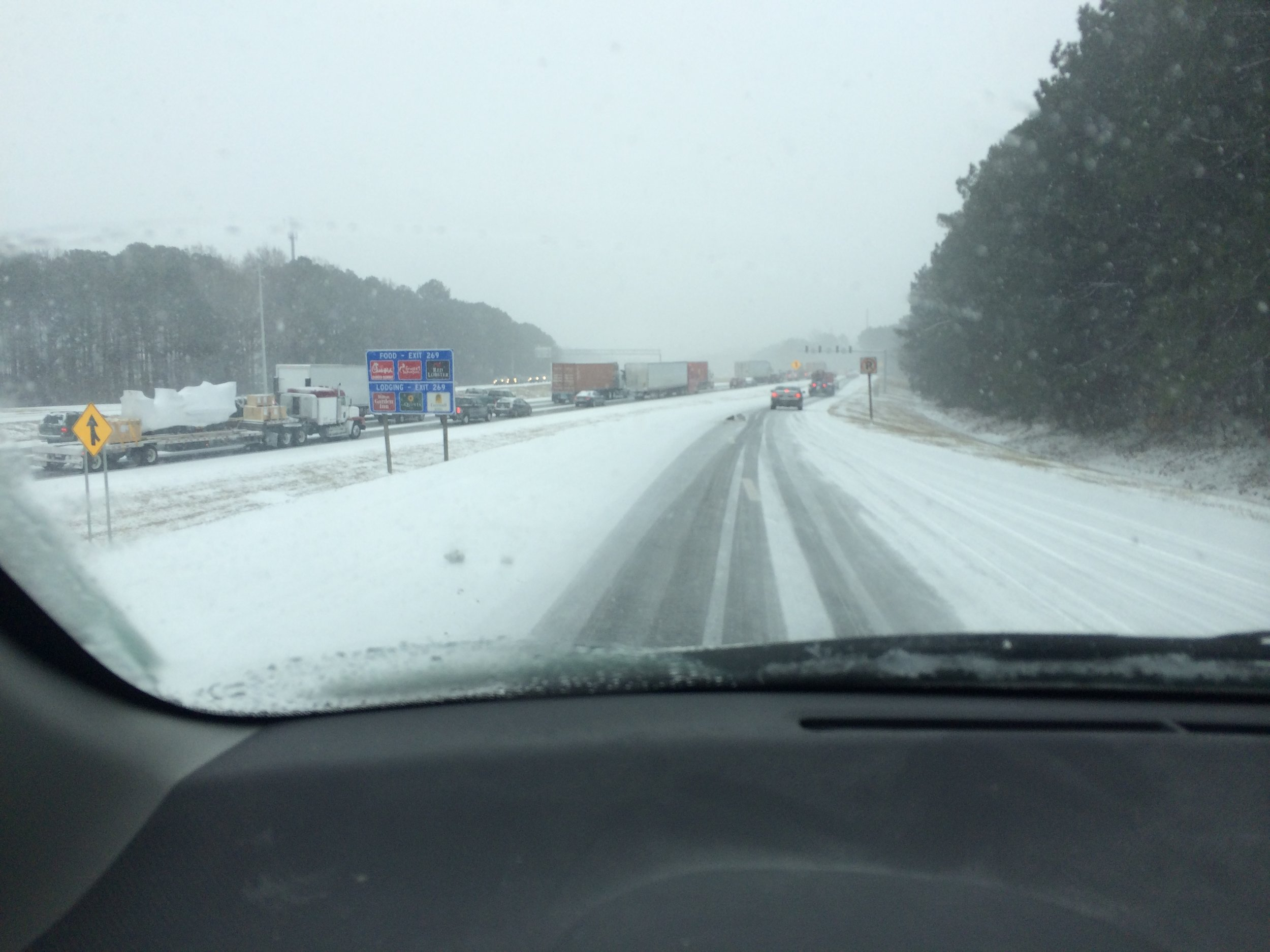 I-75 snow atlanta disaster