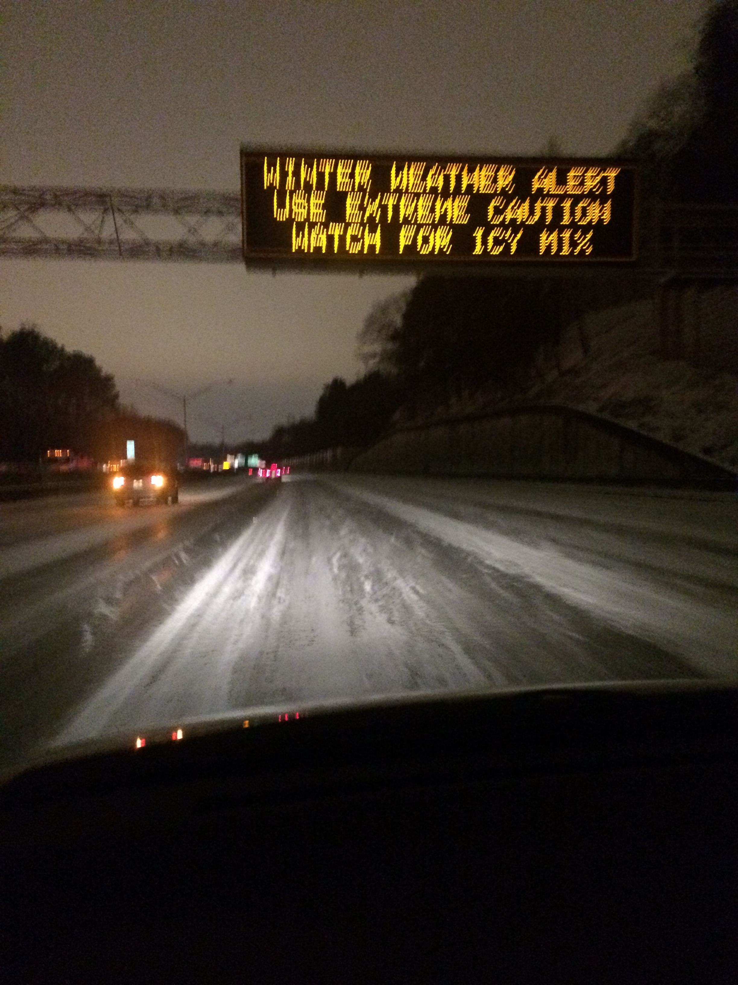 I-75 atlanta snow traffic disaster