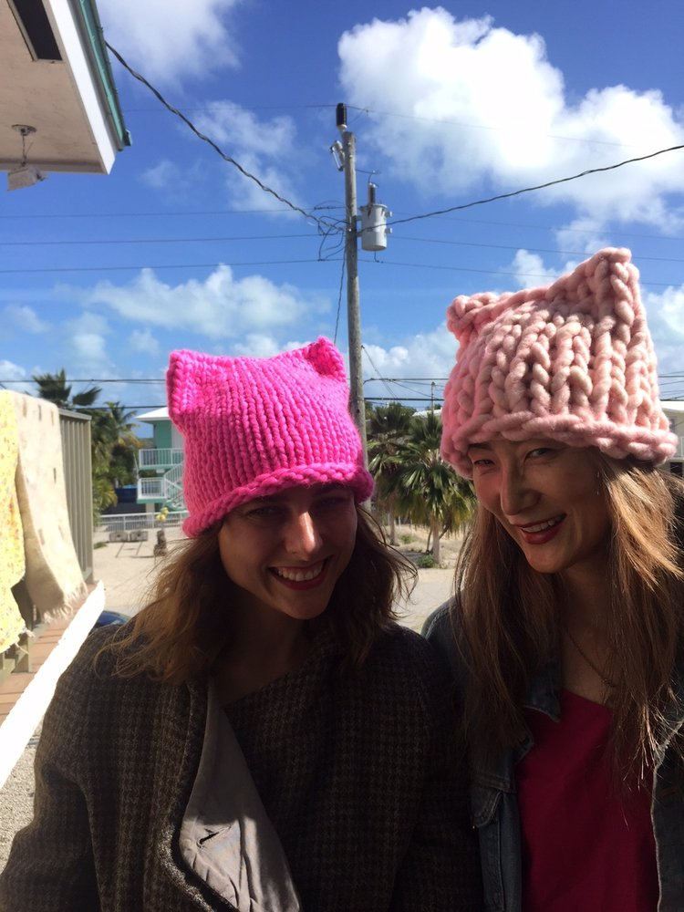 They have generously released 3 knit and crochet patterns for their Kitty  Hat for free - find them on our page PATTERNS. da7fed6fe54a