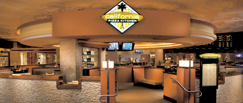 California Pizza Kitchen Mirage — Make Your Vegas