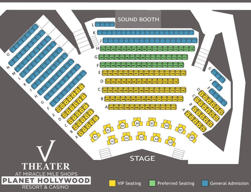 v theater seating