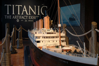 Titanic Artifact Exhibit