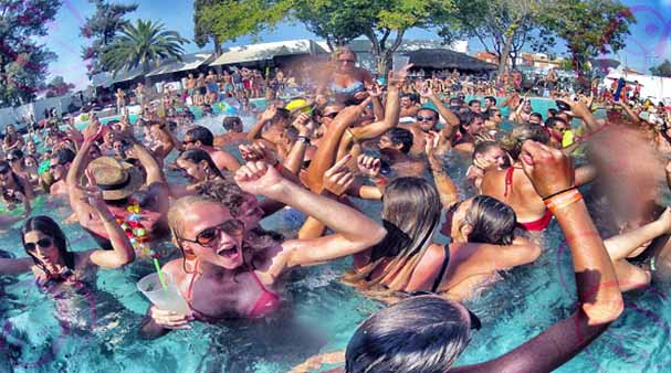 las vegas pool party pass