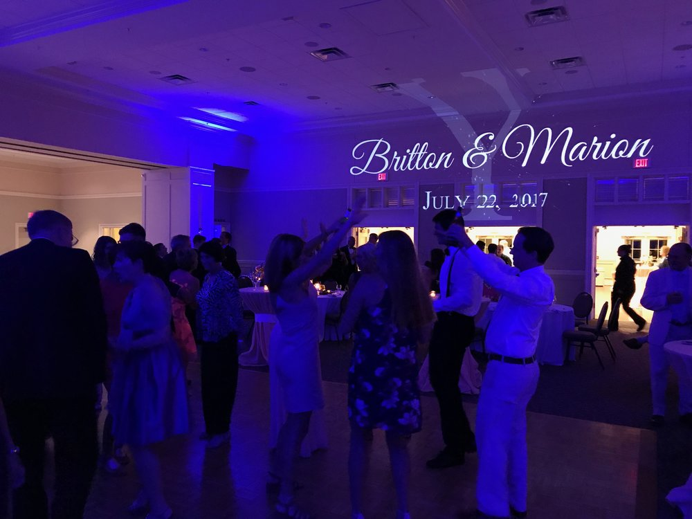MONOGRAM LIGHTING - We offer the best in monogram lighting (which we might add goes great with uplighting too!) You can pick between many different fonts and colors, and with our new animated monograms you can pick between many different styles, fonts, and animation designs!