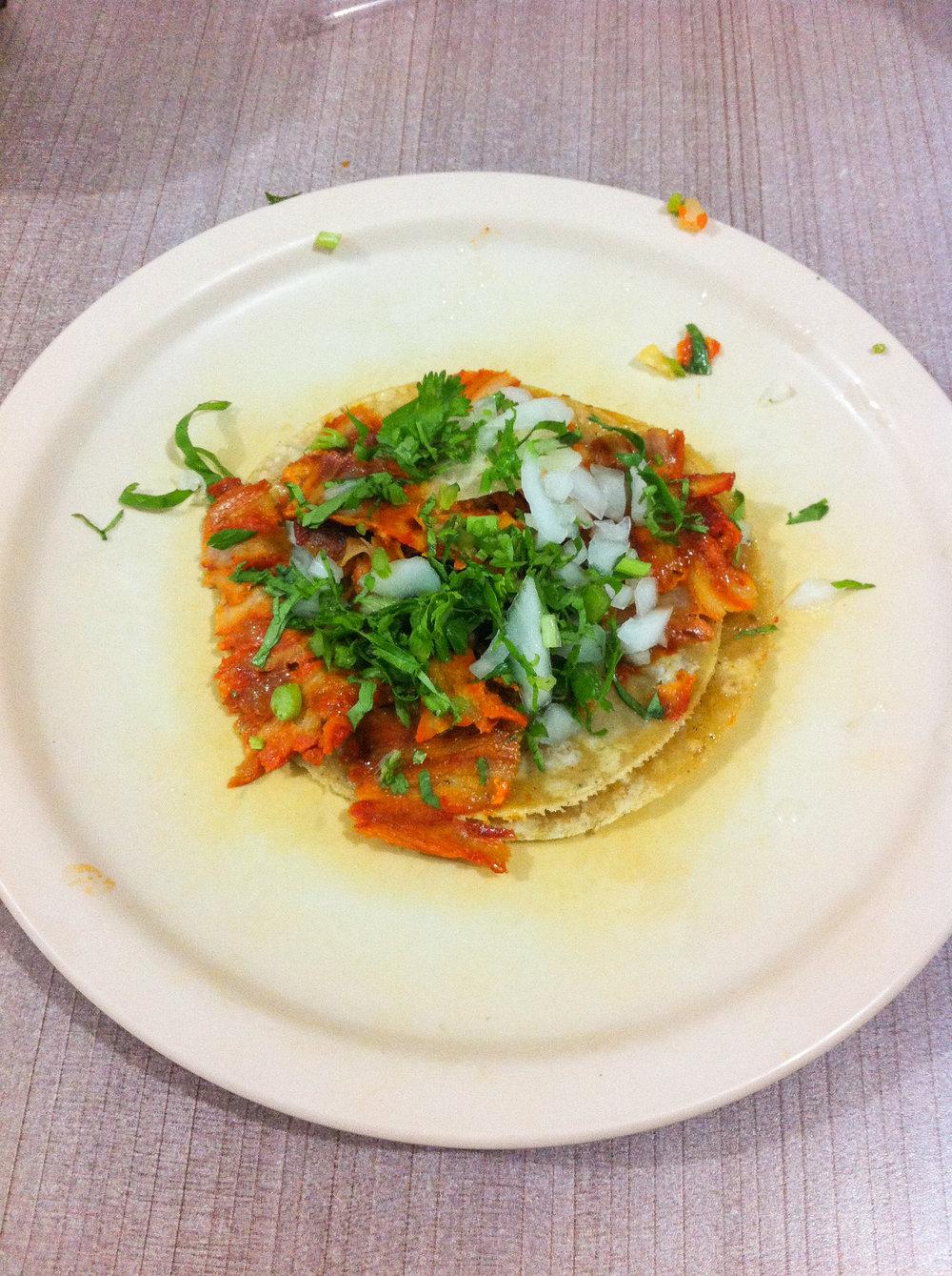 Tacos al Pastor, Los Primos, Querétaro, Meksiko