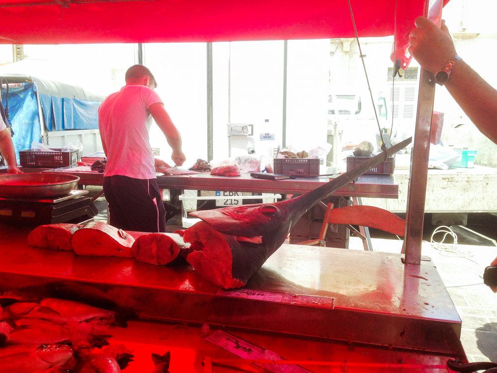 Riblja tržnica, Marsaxlokk, Malta