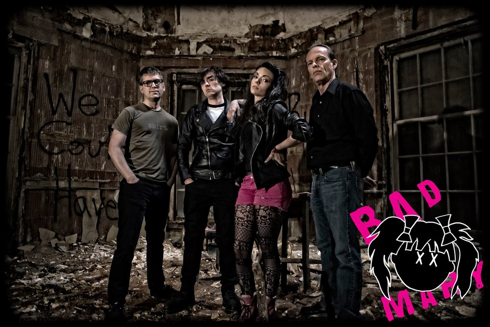 Bad Mary - Kings Park, NY PUNKMembers: Amanda, Mike, David, and BillNew York Punk that's FAST AND LOUD. Drawing influence from the likes of Blondie and The Ramones, Green Day and Paramore, Bad Mary has created their own strain of punk that takes you back to New York in the 70's but with a modern vibe.official website: http://www.badmary.com
