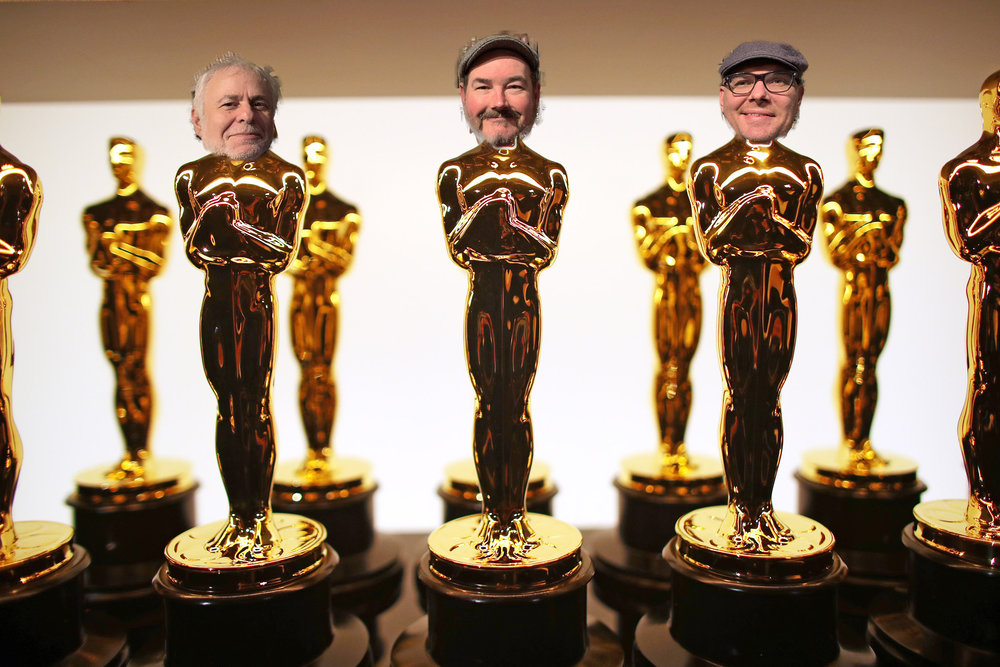 The Larry, Moe, and Curly of Oscars Podcasts