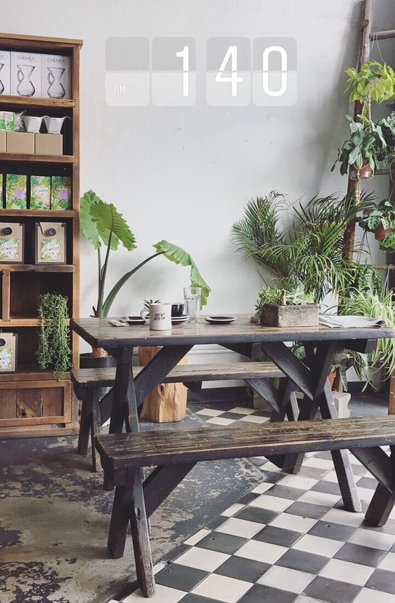 2. Lord Windsor Coffee - Good for work/study: Yes (but not the best)also great for meetups:)Aesthetics: Very cute:) beautiful plants, brick walls, nice wood, a vintage-y feel to the place.Coffee: the best in Long Beach in my opinion. 9 out of 10.