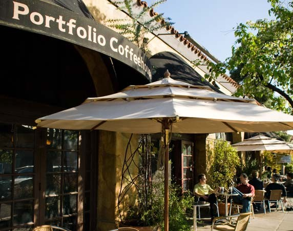 4. Portfolio Coffeehouse - Good for work/study: Yes! They have a whole seating area in the back which is for work/study (quieter, more serious)Aesthetics: lovely place with tall ceilings, brick walls, plants, very cute. Outdoor seating as well. A nice community:)Coffee: the coffee is not as good as the looks (so-so). 5 out of 10
