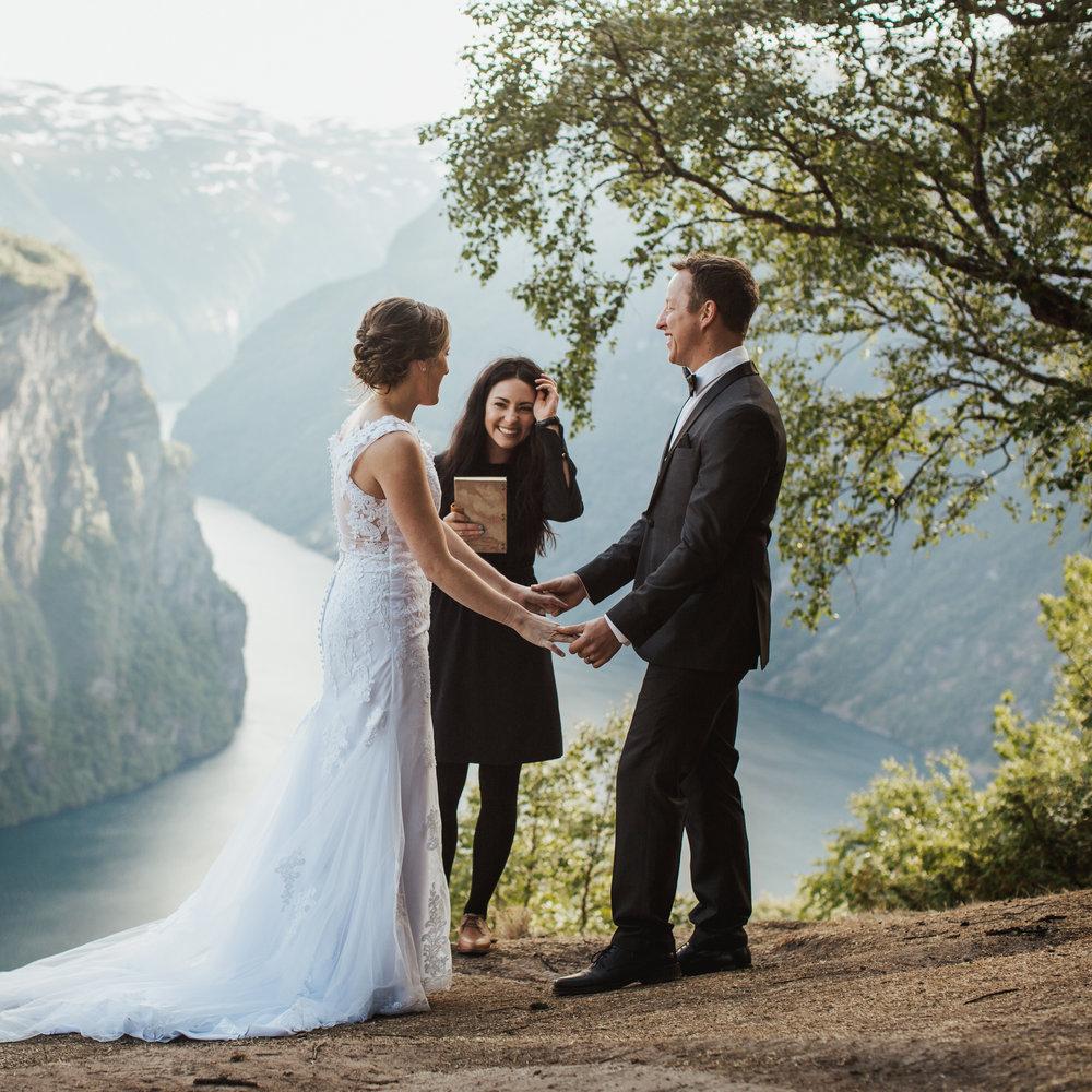 Promise Mountain Destination Weddings in Norway - Geirangerfjord, Norway - ©Michaela Potterbaum