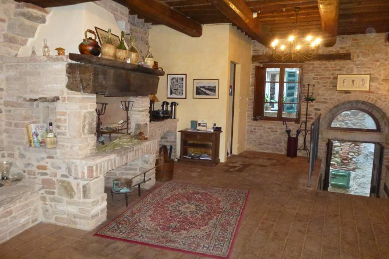 7. Villa Fireplace and Entry.JPG