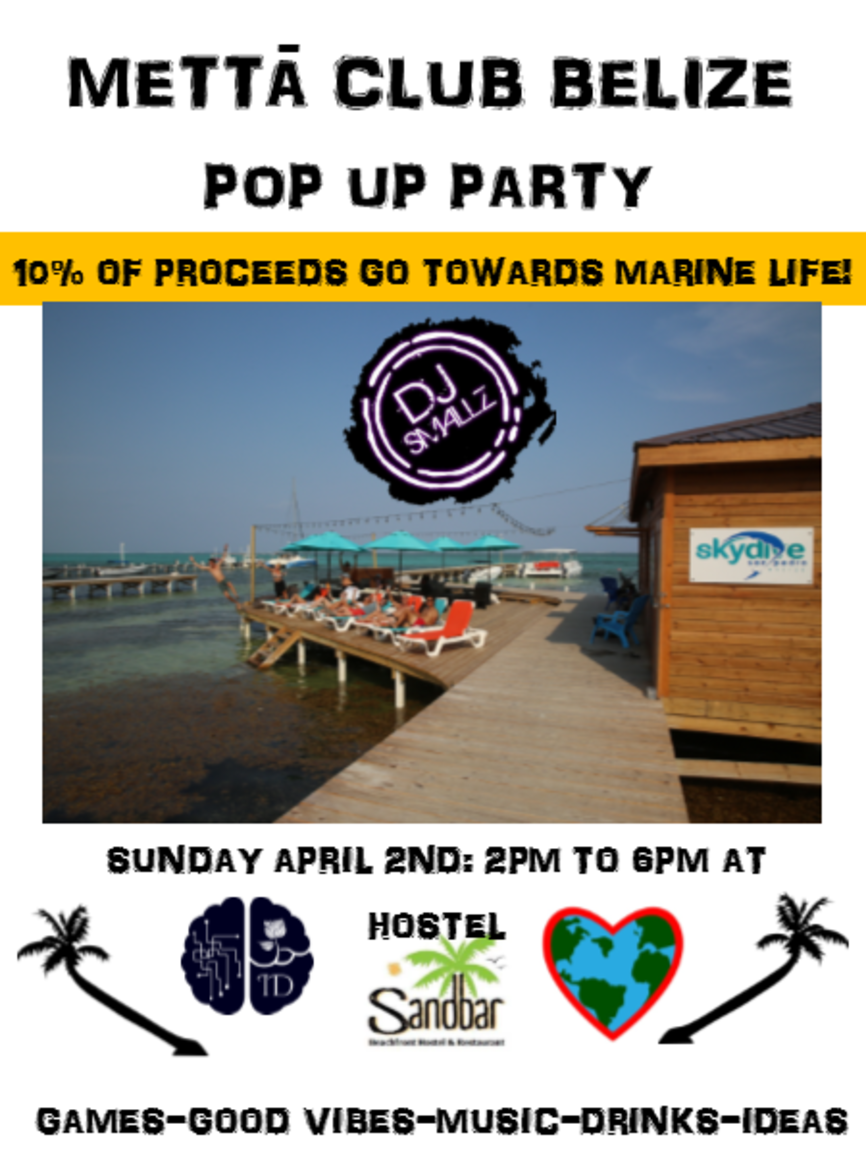Pop Up Party Belize