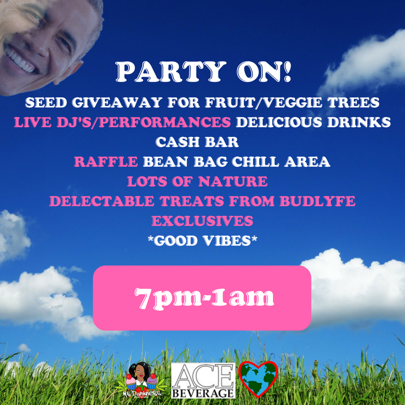 Earth Day House Party Flyer