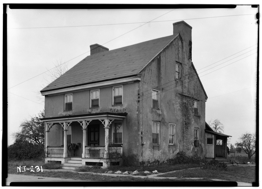The Death of the Fox Inn as it appeared in 1938, when  photographed for the National Historic Society by Nathanial Ewan.