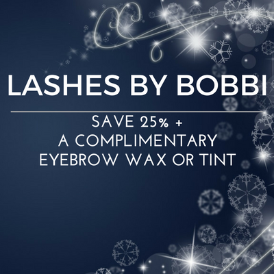 Save 25%, PLUS a complimentary eyebrow wax or tint.