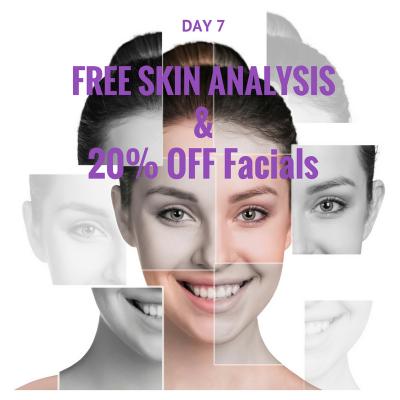 Free Skin Analysis and 20% Off Any Facials
